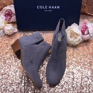 Cole Haan Grey Booties 9M
